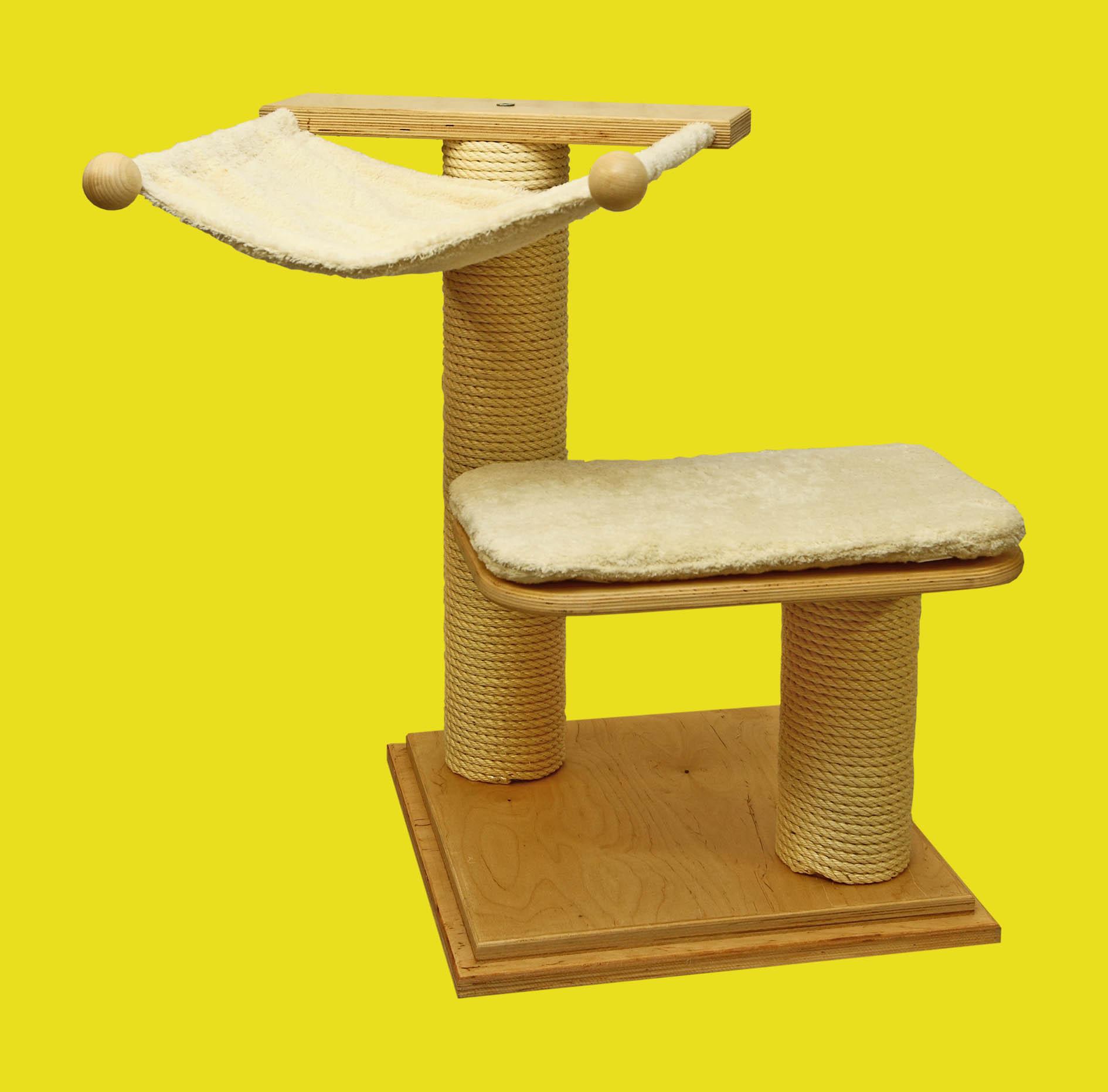 katzenb ume klein katzen trudys fuettertaesche. Black Bedroom Furniture Sets. Home Design Ideas